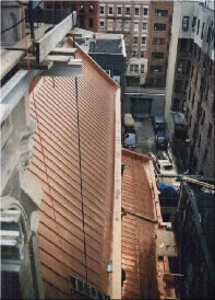 Main & Lower Copper Roof